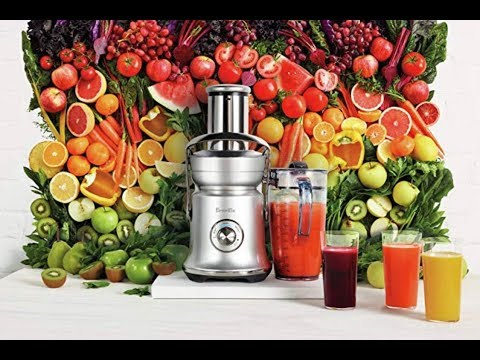 Breville BJE830BSS1BUS1 Juice Founatin Cold XL Demonstration Review
