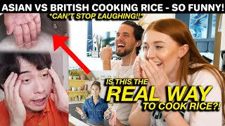 HILARIOUS Asian Reacts to British Cooking Rice! Uncle Roger DISGUSTED at BBC FOOD