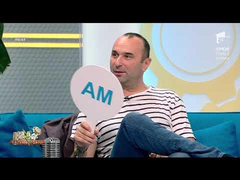 """Provocarea """"am/n-am"""", la Neatza! Marius Tucă recunoaşte că a fost îndrăgostit de o profesoară!"""