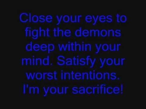 Silverstein - Sacrifice - Lyrics