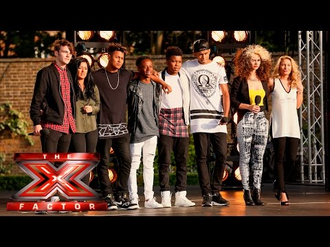 Group 6 perform Man In The Mirror | Boot Camp | The X Factor UK 2015