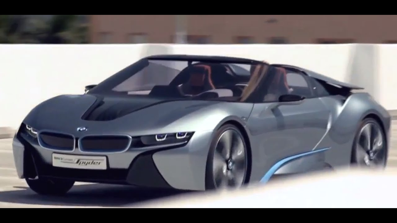 New Bmw I8 Spyder 2014 In Detail Driving Commercial Hybrid Electric