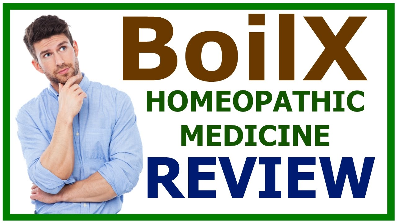 Boilx Homeopathic Medicine Boilx Review Youtube