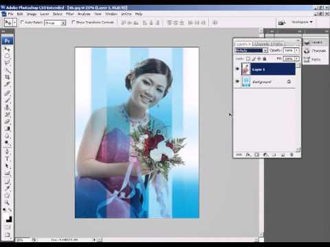 Phan 3   Bai 1   Cat nen trang nhanh   Photoshop CS3