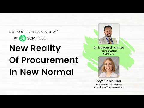 New Reality of Procurement in New Normal