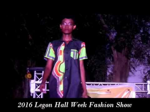 Fashion Show: 2016 University of Ghana Legon Hall Week.
