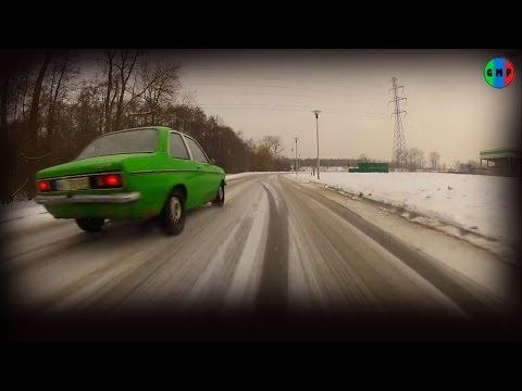 Green Mind Project - Zimna Zabawa - Opel Kadett C, winter fun not drifting