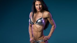 56 years young Janet Lynn West - Female muscle