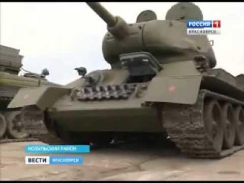 В войсковой части Козульки восстанавливают легендарные танки Т-34