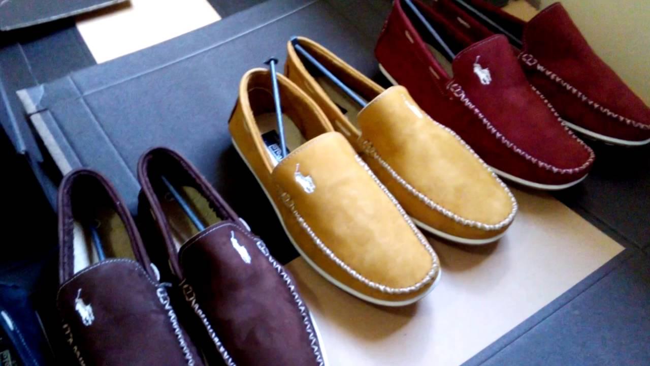 a806b0cbf9 sapatos masculinos no atacado mocassim Polo em couro legitimo - YouTube