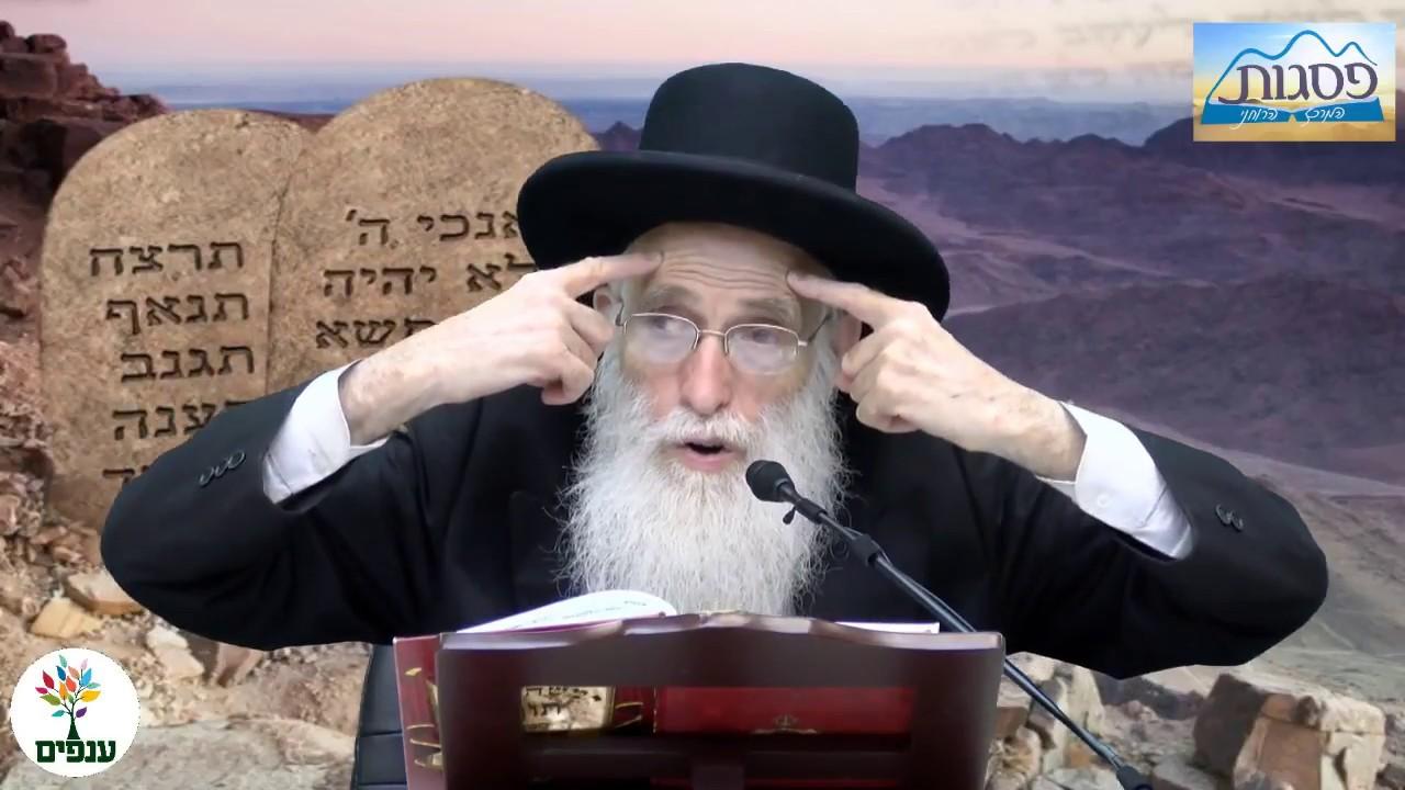 פרשת ואתחנן - הרב יהודה יוספי HD - שידור חוזר