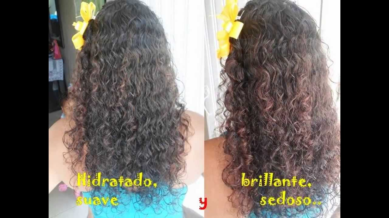 Cuidados para cabello rizado seco
