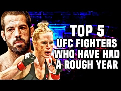 Top 5: UFC Fighters Who Have Had A Rough Year