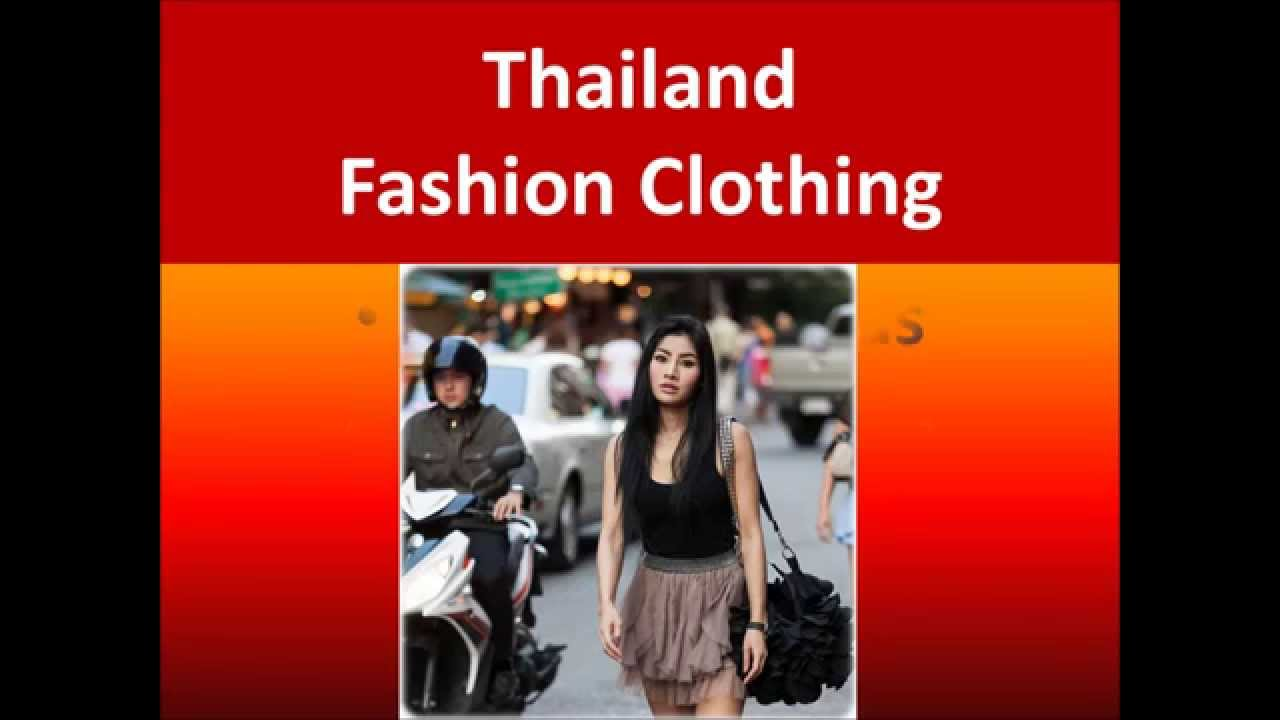 Thailand Fashion, Clothing Brands and Designers