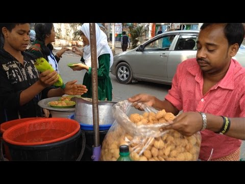Tasty Fuska | Bengali Pani Puri | ফুচকা | Bangladeshi Popular Street Food Fuska