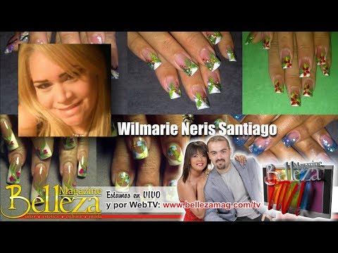 Belleza Magazine - presenta Wilmarie Neris Santiago - Seminario Uñas 3D - 201-12-09