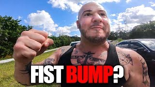 NOT SO FRIENDLY MAN | CRAZY, STUPID & ANGRY PEOPLE vs BIKERS