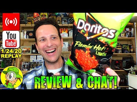 Doritos® | FLAMIN' HOT® LIMÓN Review 🔥🟢 | Livestream Replay | 1.24.20 | Peep THIS Out!