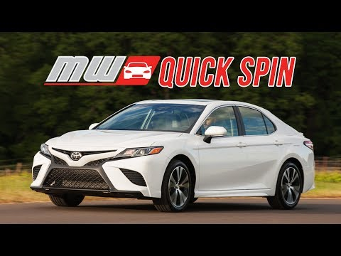 Quick Spin: 2018 Toyota Camry