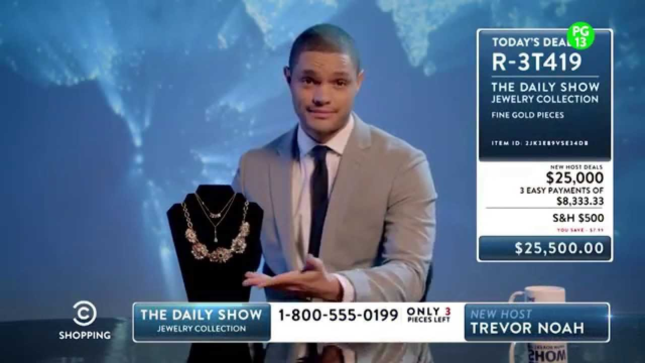 The Daily Show With Trevor Noah - Late Night Shopping ...  The Daily Show ...