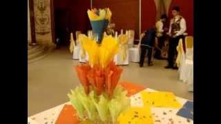 video кухня цветок из салфетки букет(video., 2012-10-08T19:43:53.000Z)