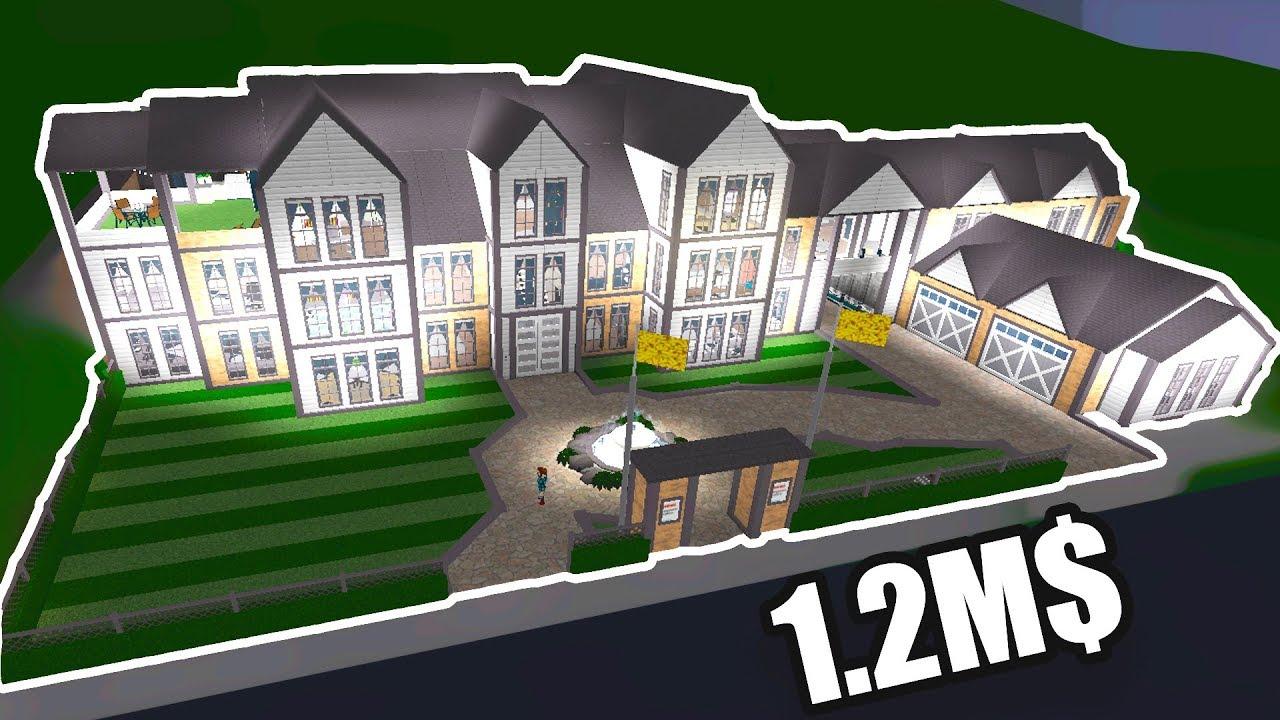 touring my 1 2m mansion roblox bloxburg youtube