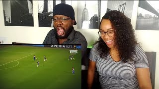 Craziest  Fastest Football Runs HD REACTION