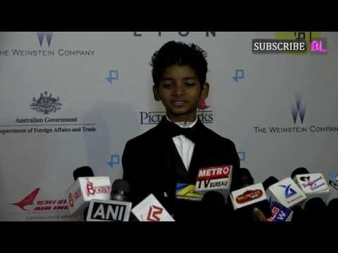 Sunny Pawar at premiere of film Lion