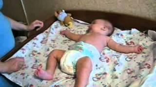 видео Массаж ребенку при мышечной дистонии