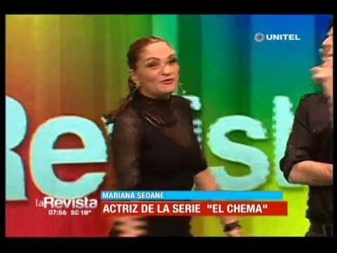 Mariana Seoane, actriz de 'El Chema', modelo, actuó y cantó en La Revista