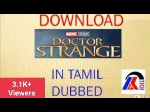 Download How to download Doctor Strange movie in Tamil (dubbed)