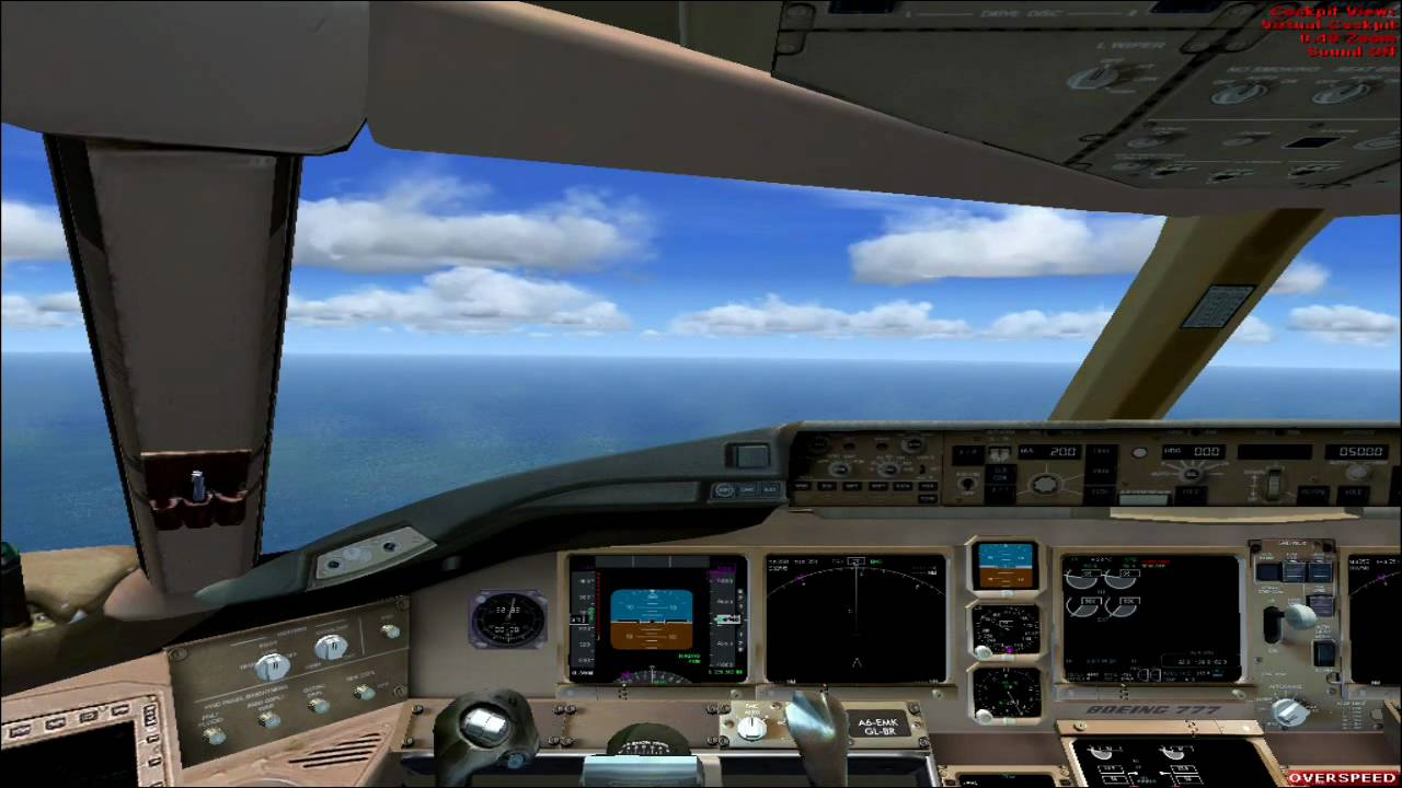 Fsx Wallpaper Hd Fsx Boeing 777 200er Wilco Hd Youtube