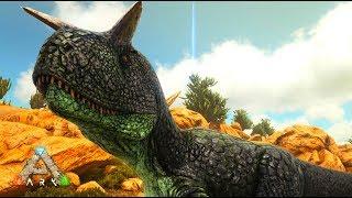 角で敵を引き裂く!肉食恐竜カルノタウルスを捕獲 - ARK Scorched Earth ゆっくり実況 #12