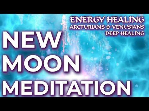 NEW ENERGY HEALING NEW MOON MEDITATION ~ ARCTURIANS & VENUSIANS ~ Arcturians Healing ~ Deep Healing
