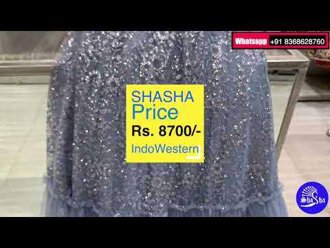 Silver Gown by Shasha® Live Video Part 1