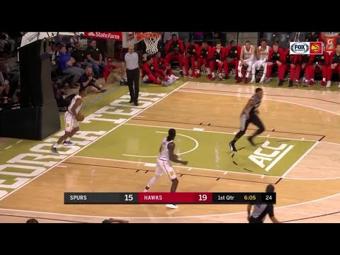 1st Quarter, One Box Video: Atlanta Hawks vs. San Antonio Spurs