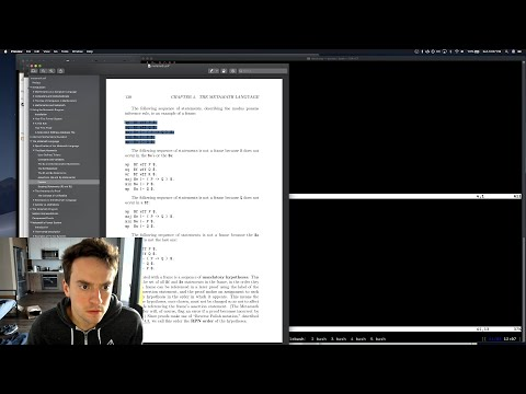 George Hotz | Programming | twitchcoq : pt 3, mostly I want to complain about metamath thumbnail
