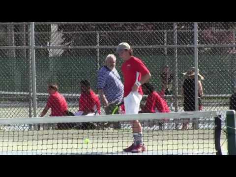 LHS Boys Varsity Tennis vs Hopewell Valley 042817