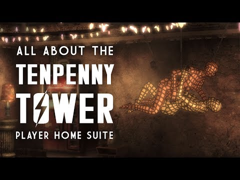 All About the Tenpenny Tower Suite - A Fallout 3 Player Home