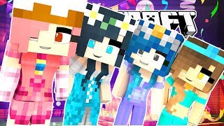 SPOOKY PRINCESS SLUMBER PARTY! | Minecraft Babies (Minecraft Roleplay)