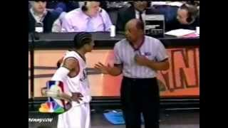 NBA referees wired 4 - featuring Joey Crawford, Rasheed Wallace, etc.