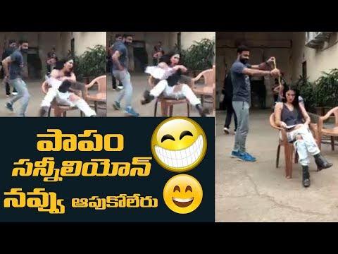 ROFL !!! Hilarious prank played on Sunny Leone || #SunnyLeone