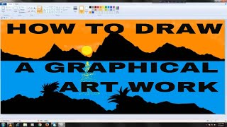 ❇How to Draw a Graphical Scenario ❇