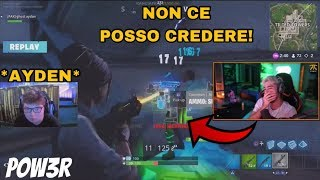 POW3R REAGISCE AD AYDAN IL CONTROLLER PLAYER CHE DISTRUGGE PRO PC PLAYER NEL FALL SKIRMISH! 2 GIORNO
