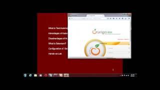 Selenium training online -