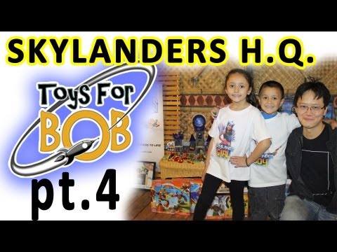 Skylanders Headquarters! (Toys for Bob pt. 4) NEW Series 3 Characters Mentioned [EXCLUSIVE NEWS]