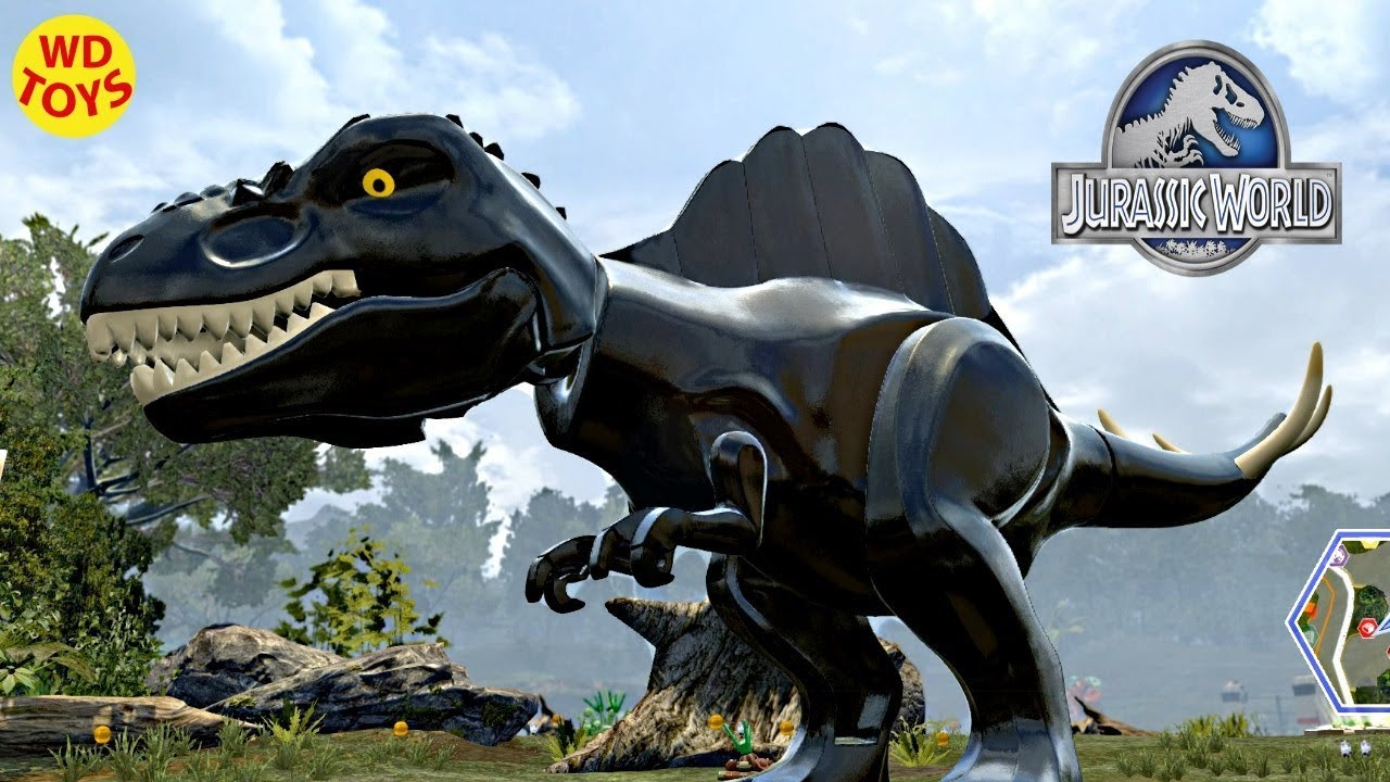 Jurassic World Lego Game Black