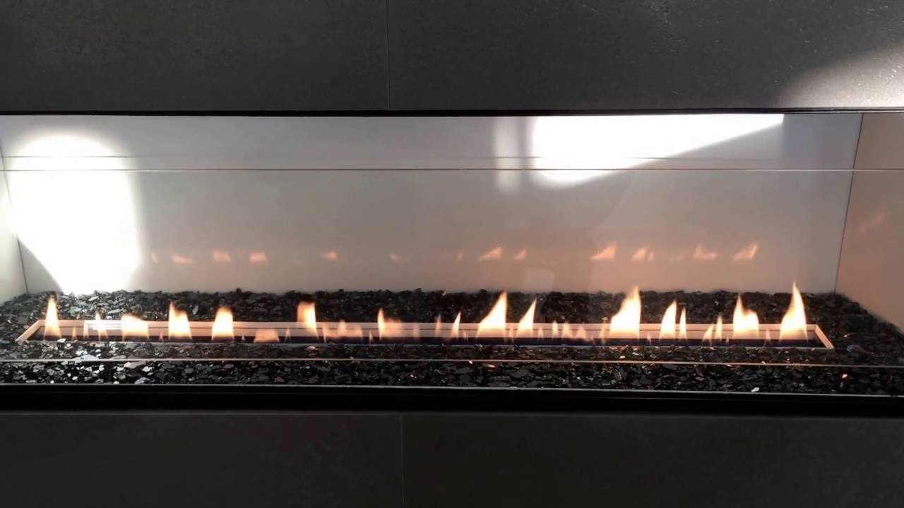 """Empire Boulevard 48"""" Vent Free Fireplace - YouTube"""