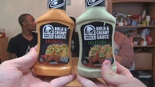 We Shorts - Taco Bell Bold & Creamy Sauce Chipotle & Jalapeno