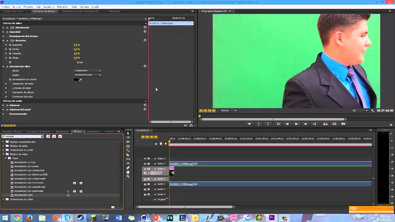 how to make a video transparent in premiere pro